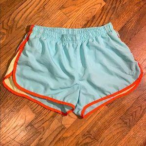 Colorful running shorts